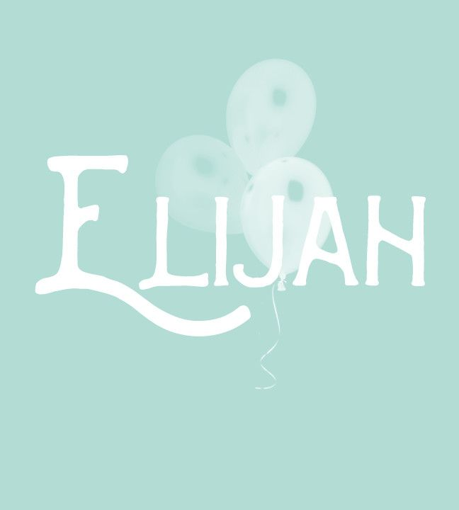 Elijah - Old-Fashioned Boy Baby Names That Are Cool Again - Photos