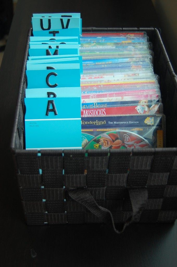 17 best images about decor ideas dvd cd storage on pinterest organize dvds dvd storage. Black Bedroom Furniture Sets. Home Design Ideas