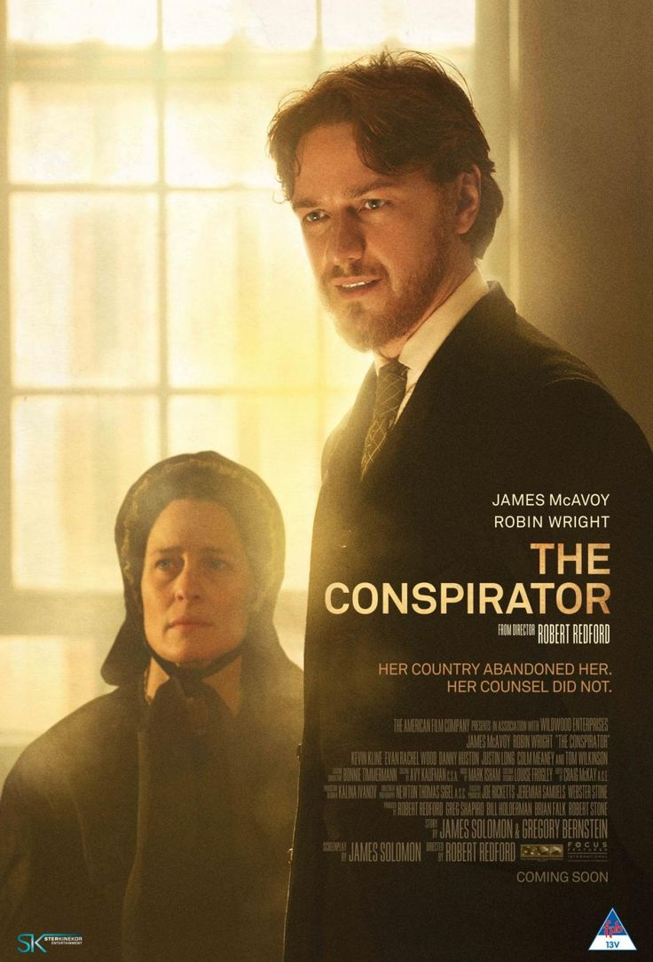 The Conspirator by Robert Redford