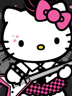 Hello Kitty Playing Guitar Hello Kitty Tattoo Ideas Hello Kitty
