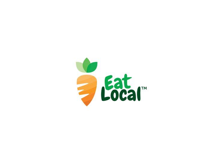 Eat Local Logo by Tudor Popa
