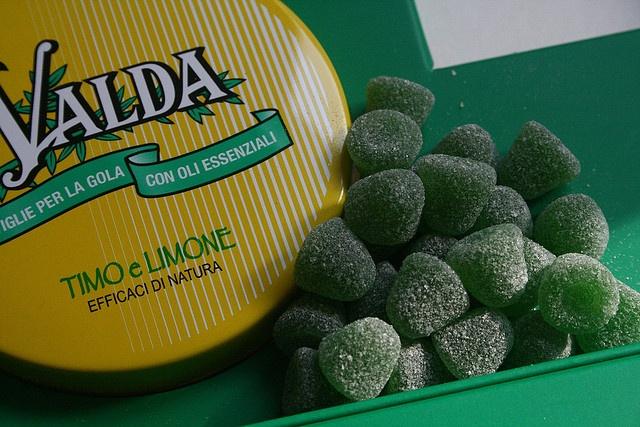 Les pastilles Valda que les Mamies donnaient comme s'il s'agissait de bonbons....