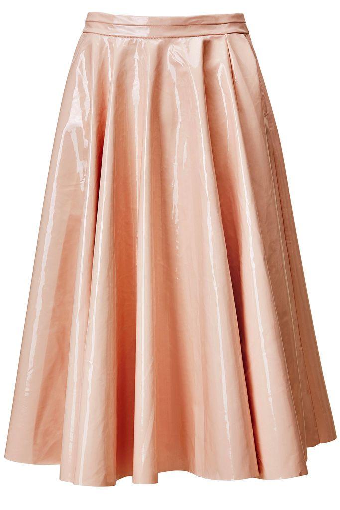 Lady Retro- Falda midi de vuelo (mini skirt) H&M