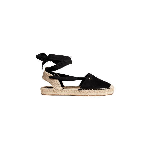 Sandals Espadrilles ❤ liked on Polyvore featuring shoes, sandals, espadrille shoes and espadrille sandals