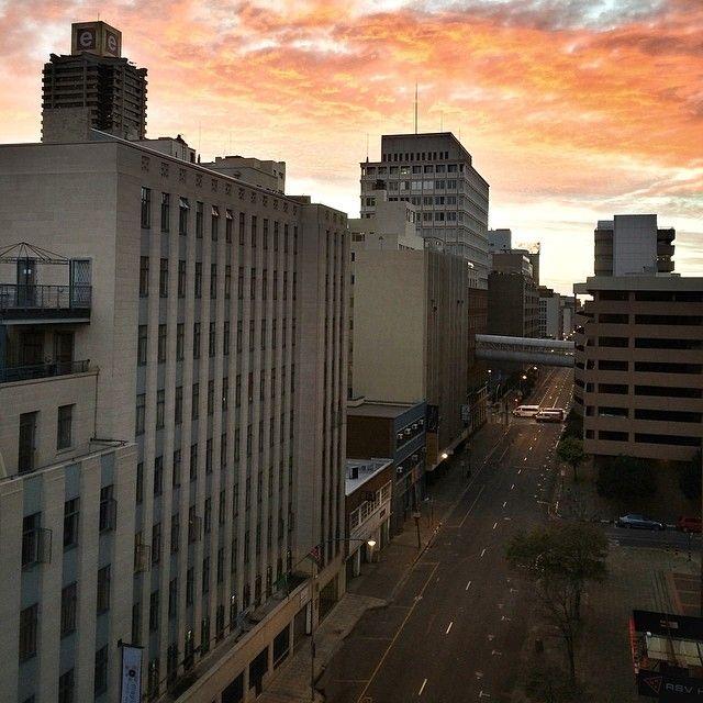 Good morning (at Anderson Street)