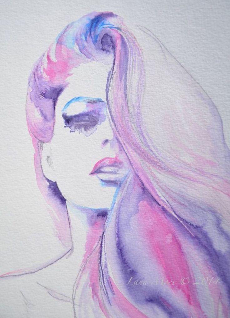 ❧ Couleur : Parme et rose ❧