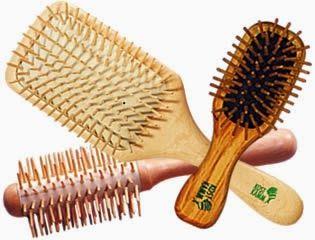 Natural Beautytalk: Hårborstar i trä