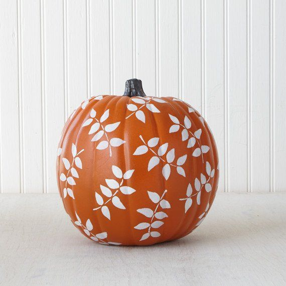 Falling Leaves Pumpkin