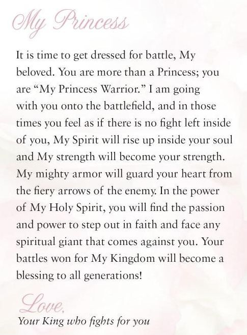 Daughter of the King called to prepare for battle - Princess Warrior