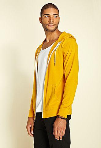 $12 forever 21 mustard hoodie