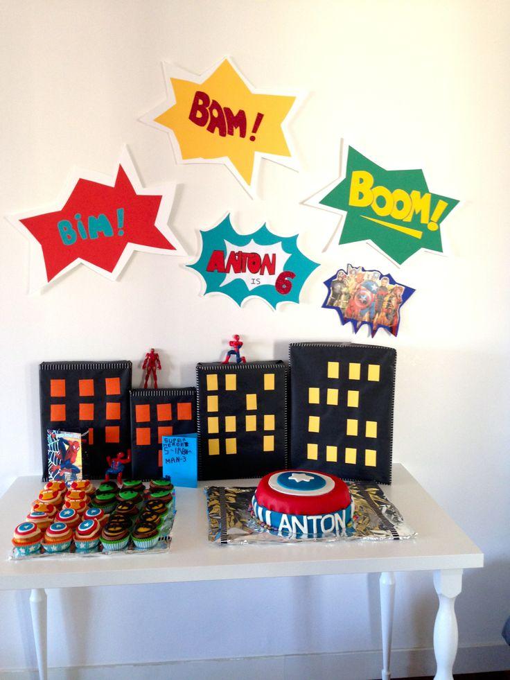 32 best Avengers Birthday Party images on Pinterest Avengers