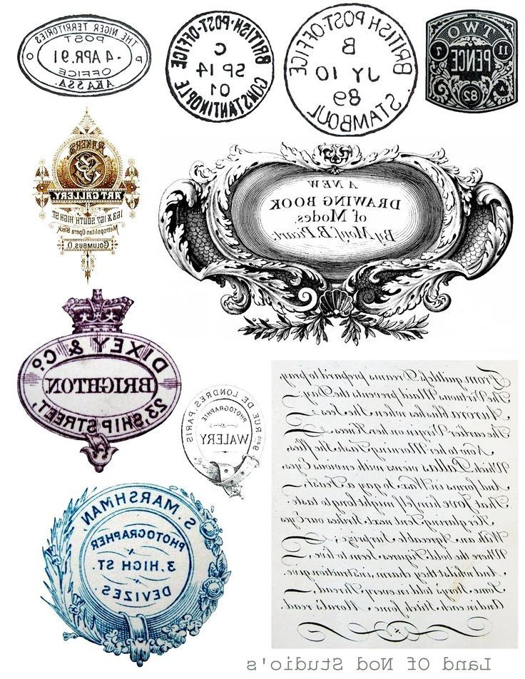 labels and letters