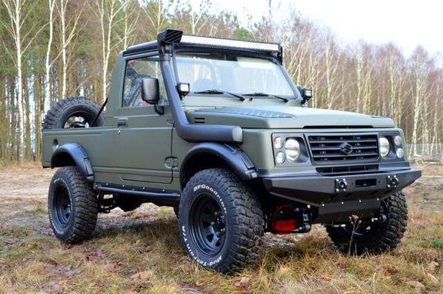 53 best images about suzuki samurai pickup love on pinterest the gypsy motor company and nitto. Black Bedroom Furniture Sets. Home Design Ideas