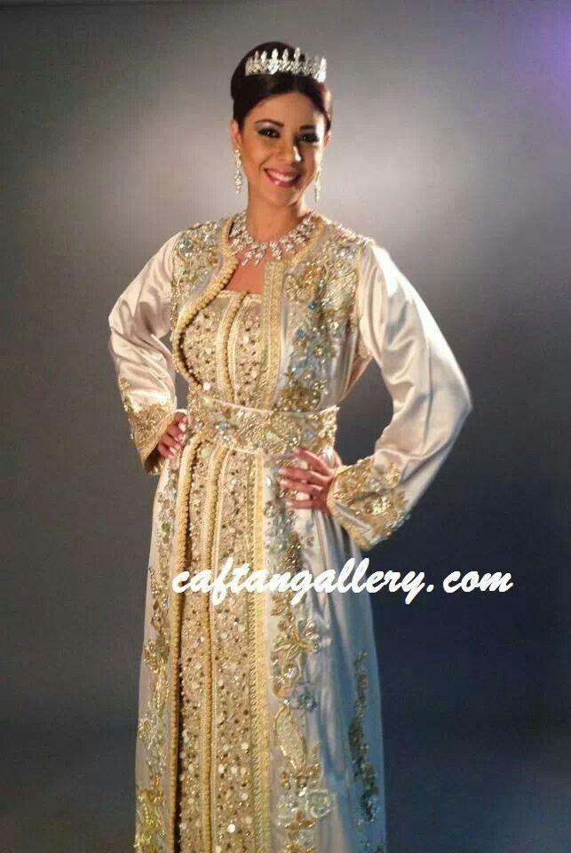 Robe longue style marocaine