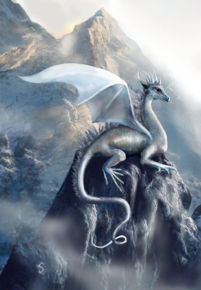 Snow, Ice, & Frost Dragons | Breathing Fire | Pinterest