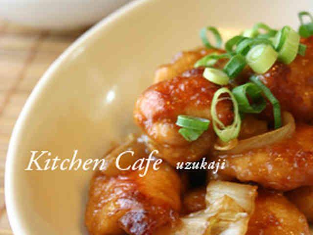 鶏肉と白菜の味噌炒めの画像