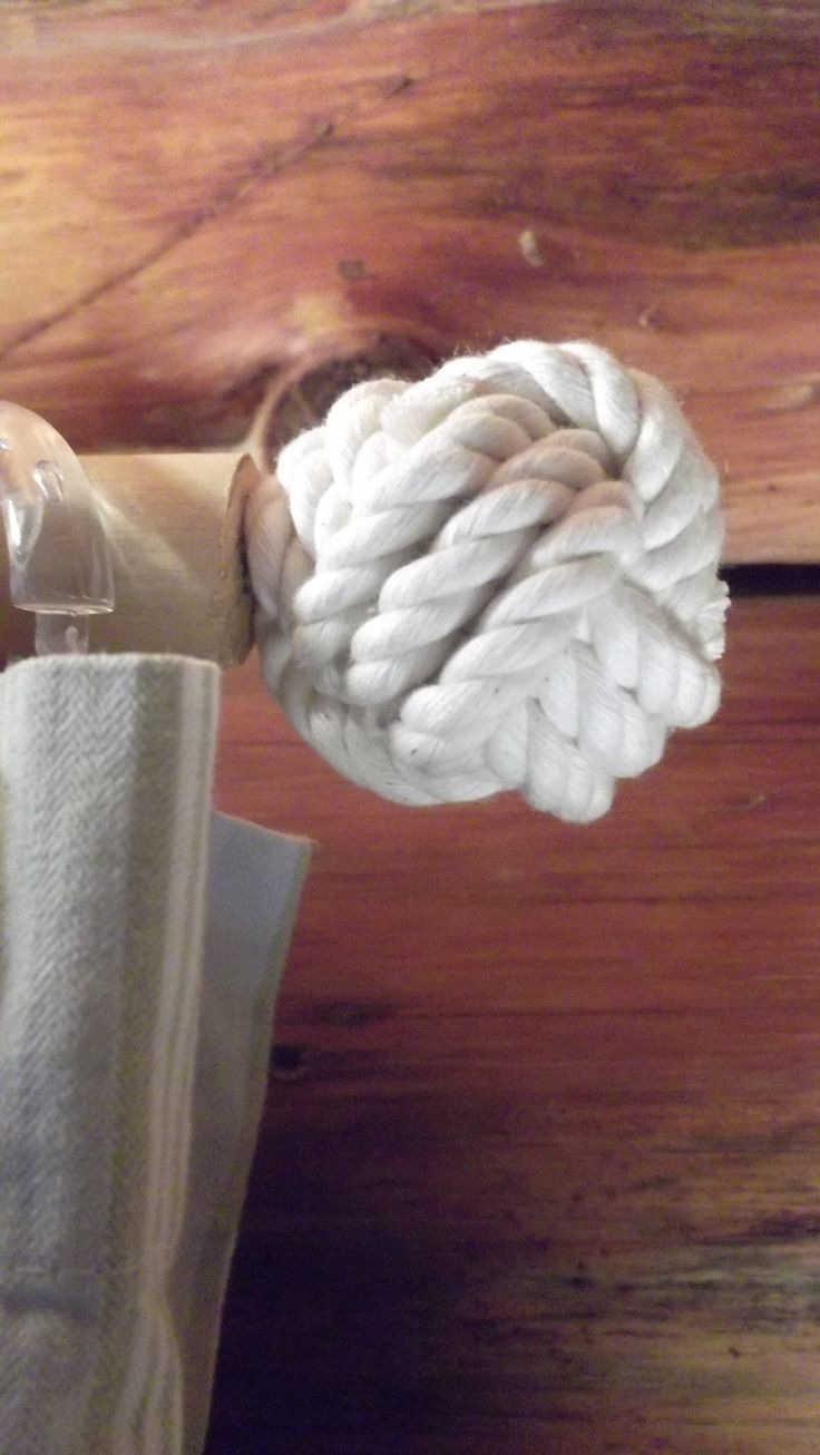 Nautical curtain rod finials - Nautical Decor 2 Finials For The Cottage Cabin By Karensropework 20 00