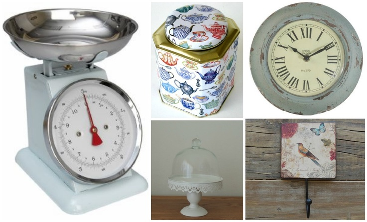How to add vintage character to your kitchen..featured on www.all4women.co.za