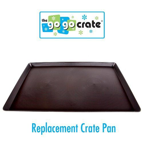 GoGo Plastic Dog Crate Replacement Pan/Tray, 42-Inch - http://www.thepuppy.org/gogo-plastic-dog-crate-replacement-pantray-42-inch/