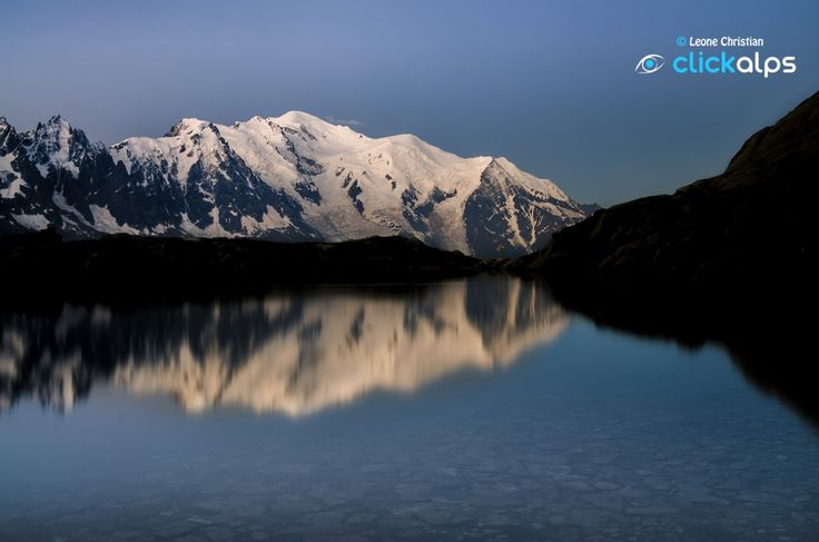 Lake Cheserys and Mont Blanc by Leone Christian on 500px