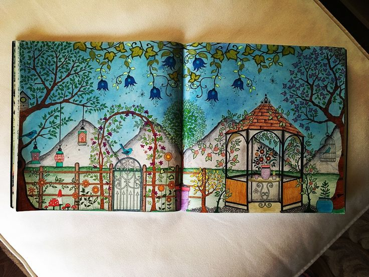 🌿🍃🌱🌳🌸🌺🌼🍃🌿🌱🌳 #myCreativeEscape #secretgarden #gradinasecreta #johanabasford #secretgardenjohannabasford