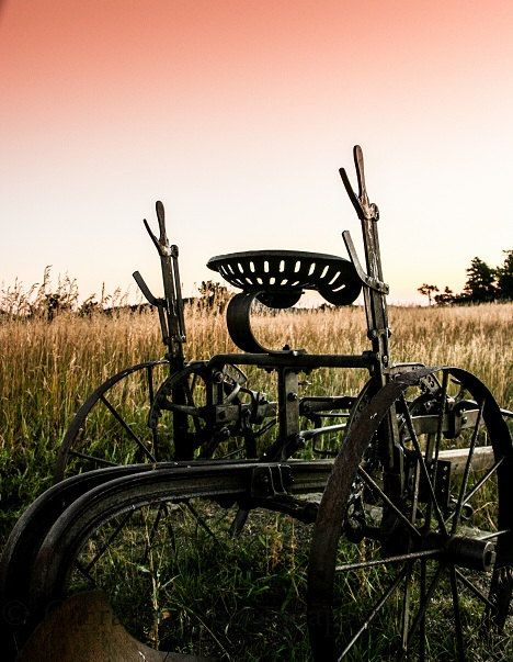 Old Farm equipment by CFrahmPhotography on Etsy