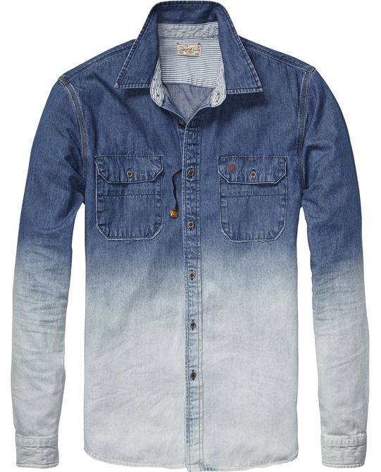 Worker Denim Shirt > Mens Clothing > Shirts at Scotch & Soda