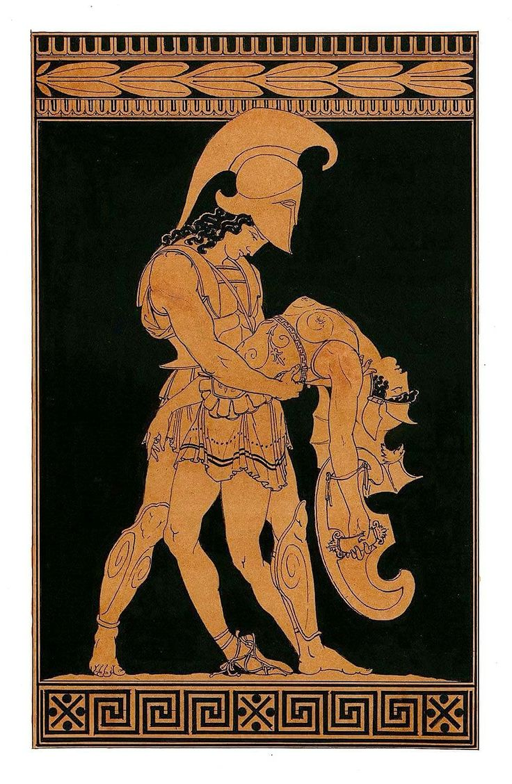 Aachilles and Penthesilea