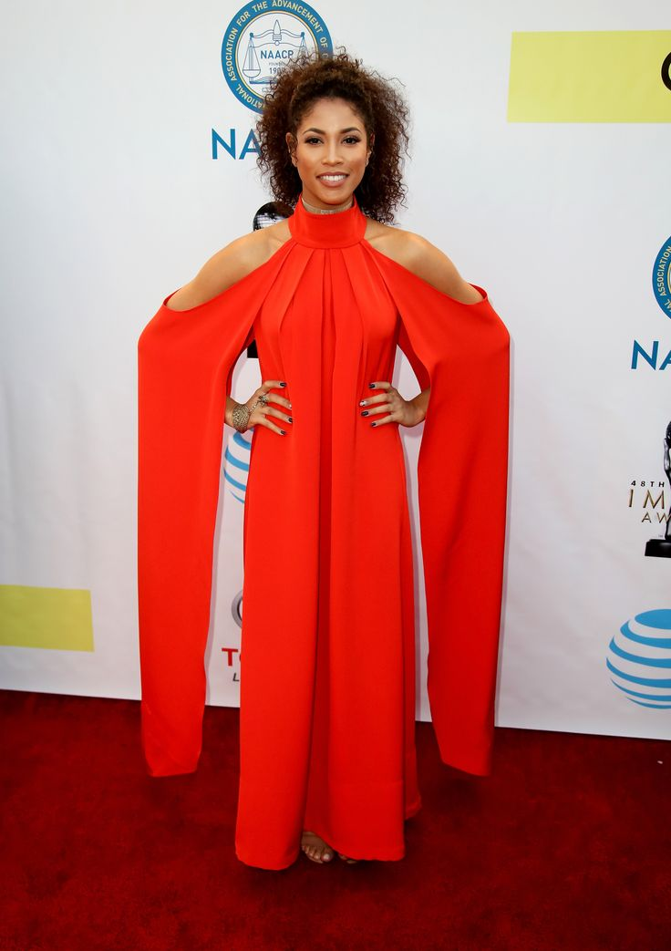 Actress Lex Scott Davis attends the 48th NAACP Image Awards at Pasadena Civic Auditorium on February 11, 2017 in Pasadena, California. (Photo by David Livingston/Getty Images)