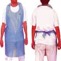 Disposable Plastic Aprons offered by us is high on demand by our clients. These Aprons are widely used in hospitals, hotels and others. These Disposable Aprons are made up of fine quality of material. These Disposable Aprons are available in various sizes, lengths and in prints. These Disposable Aprons are waterproof and blood proof. This Disposable Apron is provided by us to the clients at market leading prices.