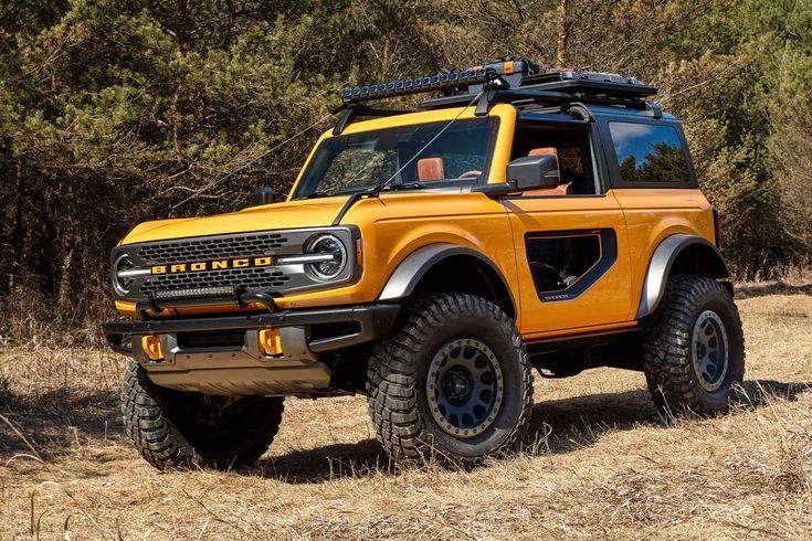 2021 Ford Bronco SUV in 2020 Ford bronco, Bronco, Bronco