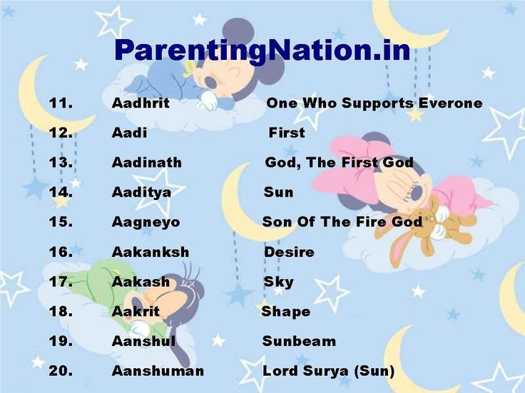 10 Best Images About Mesh Rashi Baby Boy Names With