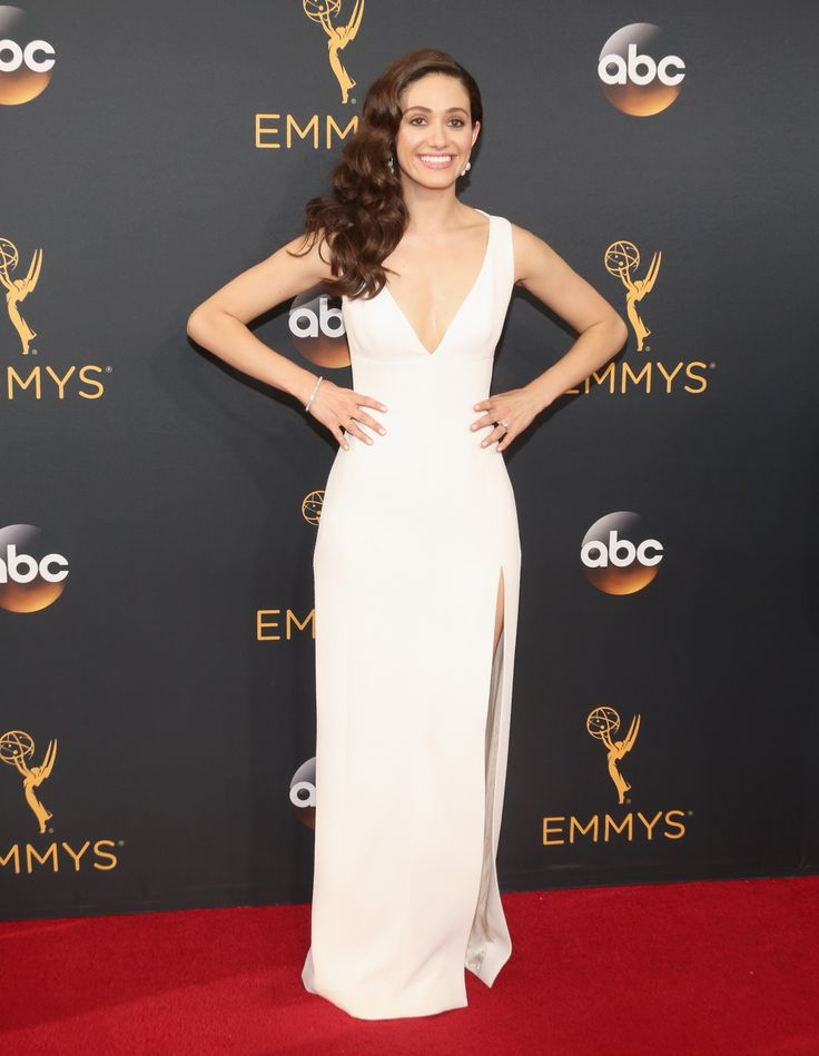 Emmy Awards 2016: Fashion—Live From the Red Carpet - Emmy Rossum