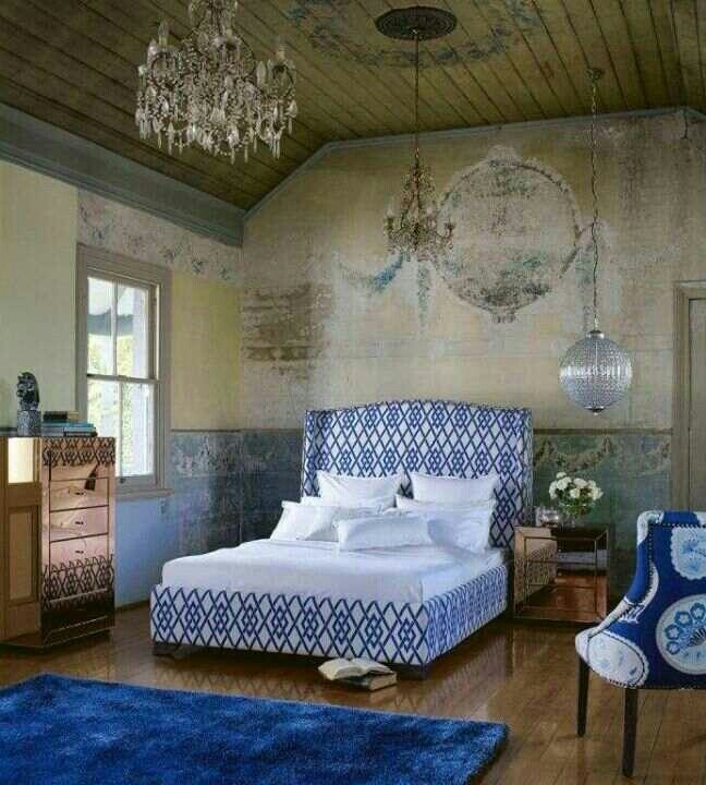 Best 25+ Rustic Bedroom Blue Ideas On Pinterest