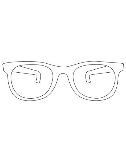 Sunglasses coloring pages | Download Free Sunglasses coloring pages for kids | Best Coloring Pages