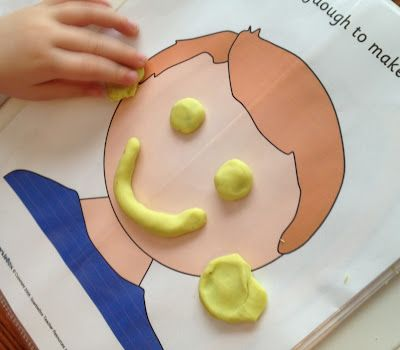 itmom: Fun with the Kids. Printable Playdough Activity Books.