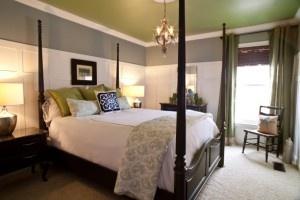 LOVE the wallGrey Bedrooms, Guest Bedrooms, Bedrooms Design, Colors Schemes, Master Bedrooms, Painting Ceilings, Bedrooms Decor, Gray Bedrooms, Bedrooms Ideas