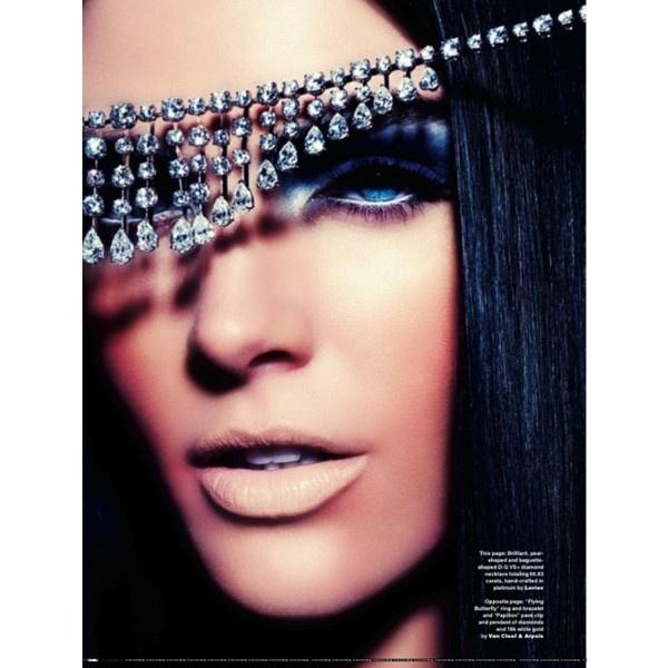 Hilary-Rhoda-for-Scene-Magazine-April-2012-beauty-8 ❤ liked on Polyvore