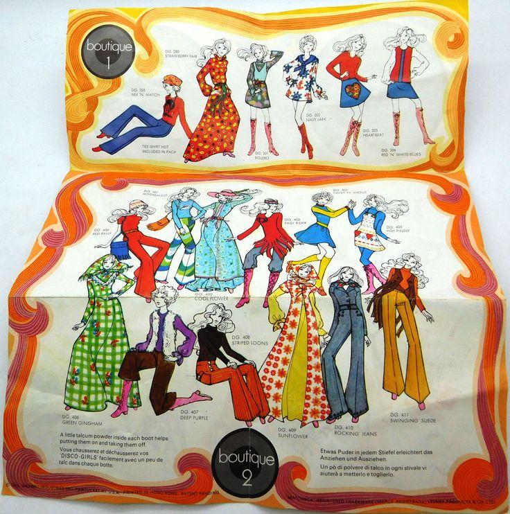 Vintage Miss Matchbox Disco Girls Leaflet 1972 | eBay