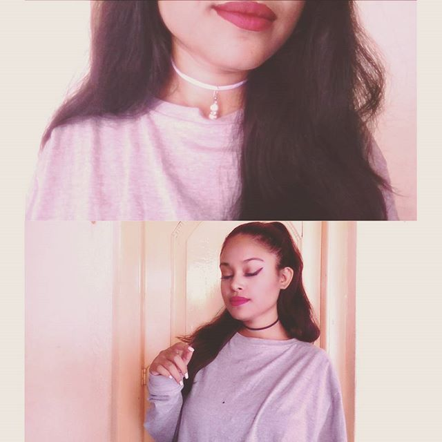 Easy DIY Ariana Grande Chokers . link in my bio.  #Look #Choker #TumblrFashion #Youtuber #like4like #shoutout #beautyblogger #Beautiful #Love #shoutout #Dress #Designer #jewelry #Necklace #Lips #Youtube #Styler
