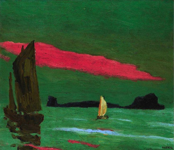 Emil Nolde: Südseeinsel (1915)