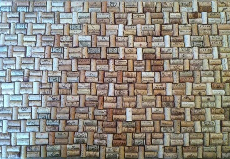 37 best home man cave images on pinterest wine corks for Wine cork welcome mat