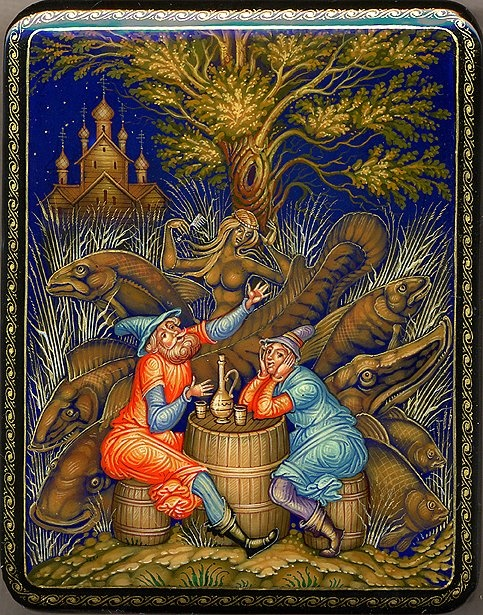 Мстёра -Mstera is a style of Russian painting, the name comes from a large village in the Vladimir region on the bank Klyaz'ma, where she was born.