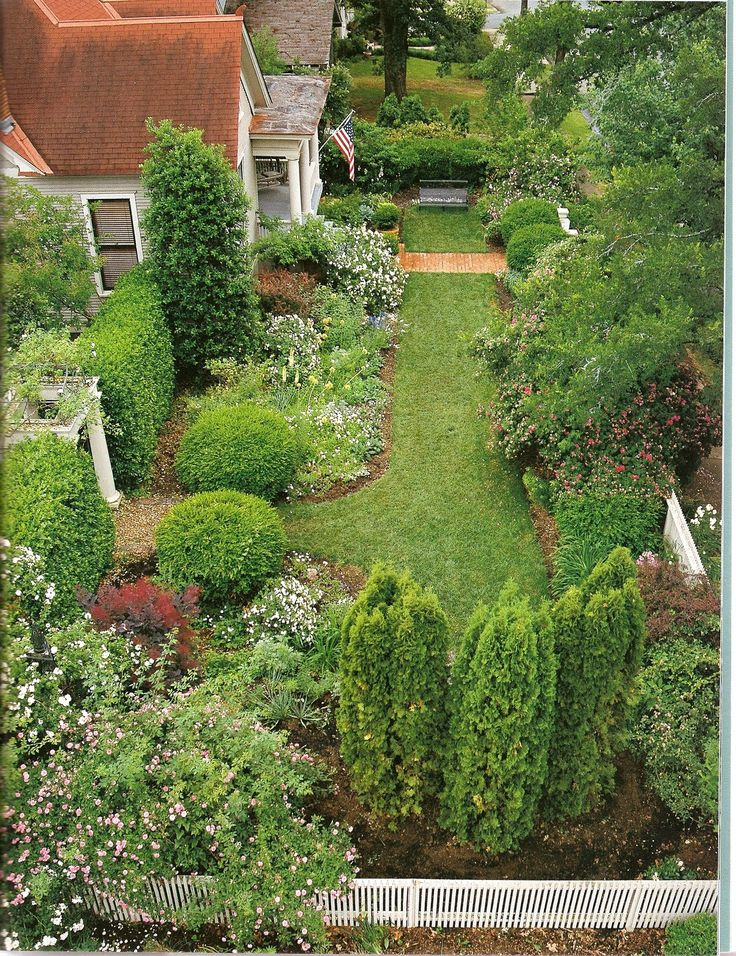 hydrangeas front yard landscaping | Front yard plans ...