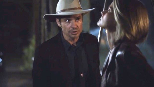 Justified Final-Season First Look [VIDEO]: Raylan Rallies Anxious Ava to Betray Boyd — Plus: Guess who's getting out of prison?