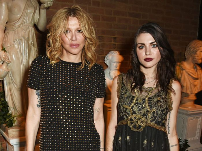 Courtney Love and Frances Bean Cobain are a royal family in this new Burberry ad