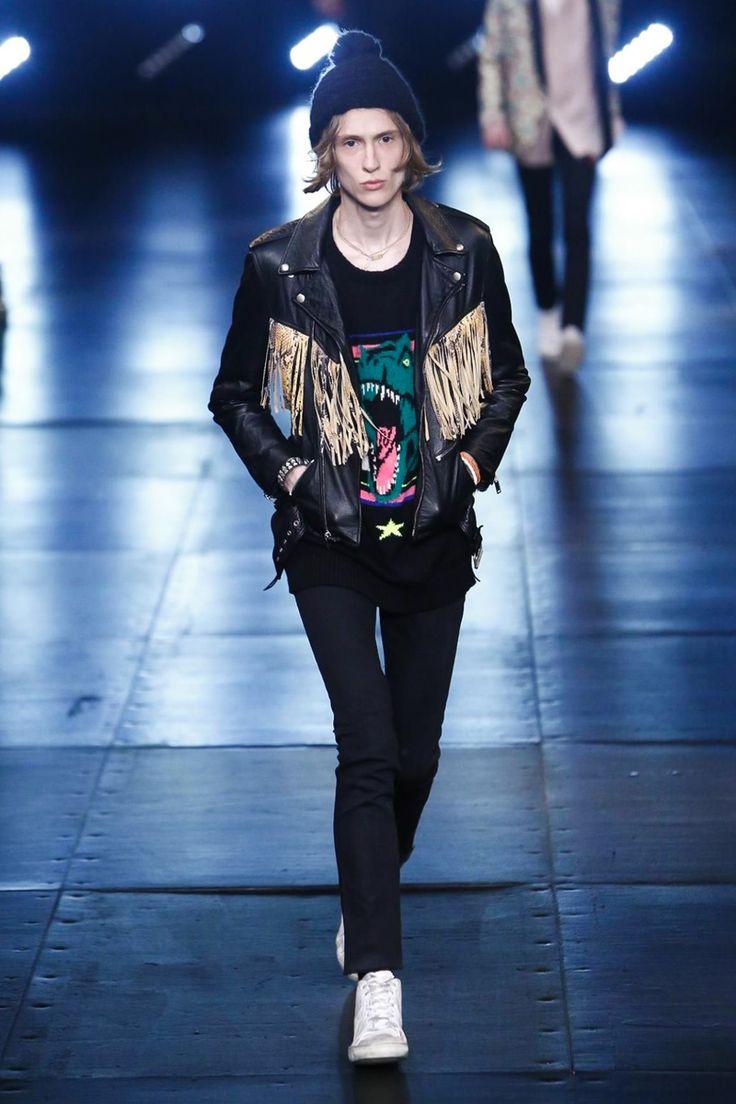 yves saint laurent pre ss16: saint laurent leather shopper bag