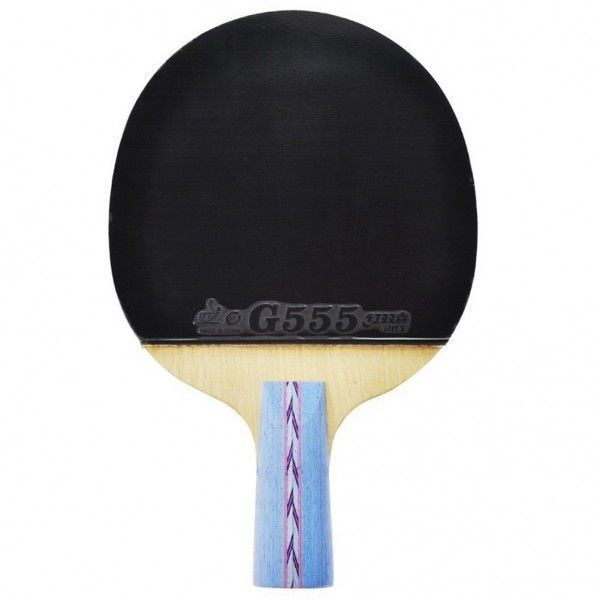 DHS Double Happiness HURRICANE No.1 Ping Pong Paddle Penhold Table Tennis Racket on sale with Free Shipping