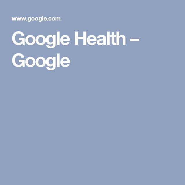 Google Health – Google