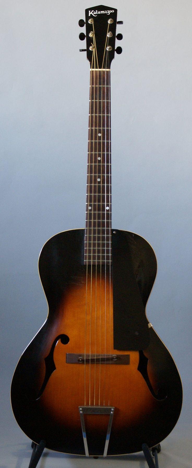 1932 kalamazoo archtop acoustic dream guitars pinterest vintage 1930s and acoustic. Black Bedroom Furniture Sets. Home Design Ideas